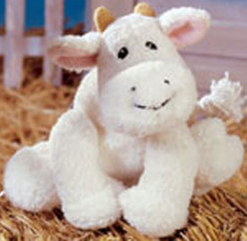 Cuddly Collectibles Cuddly Soft Small Plush Cows