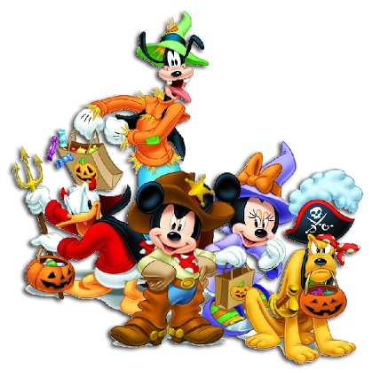 Cuddly Collectibles - Mickey Mouse and Friends Halloween ...