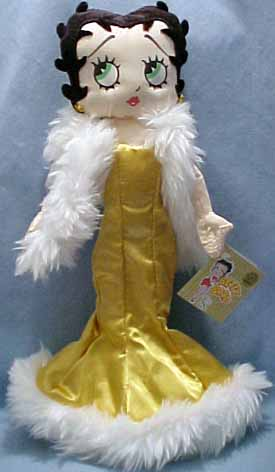Click here to go to our Collectible Betty Boop Plush Dolls