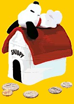 Click here to go to our Charles Schultz's Snoopy and the Peanuts Gang Banks