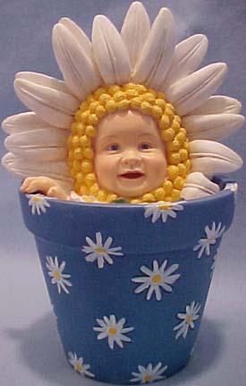 Cuddly Collectibles Collectible Anne Geddes Flower Pot