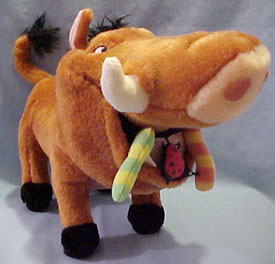 Click here to go to our Disney's Lion King Plush from Ed to Timon