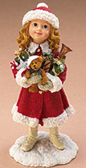 Cuddly collectibles collectible christmas figurines