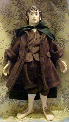 Cuddly Collectibles Lord Of The Rings Two Towers Frodo Dolls