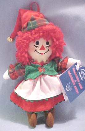 Raggedy Ann and Andy - Christmas Ornament SET | ThisNext