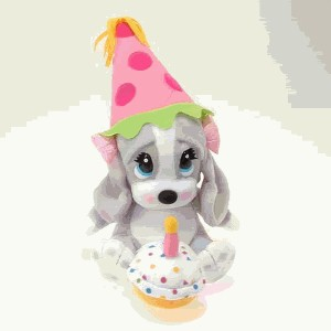 Click to go to our Sad Sam and Honey Happy Birthday Basset Hounds