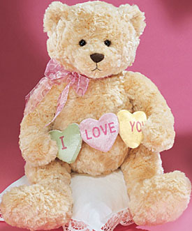 click here to go to our gund valentines day large 12 to 16 inch plush teddy - Valentine Day Bears