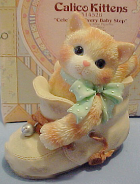 Cuddly Collectibles - Calico Kitten Figurines