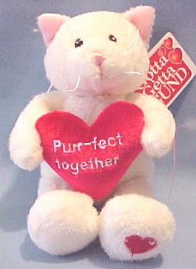 Cuddly Collectibles Valentines Day Musical Plush Cats And Kittens