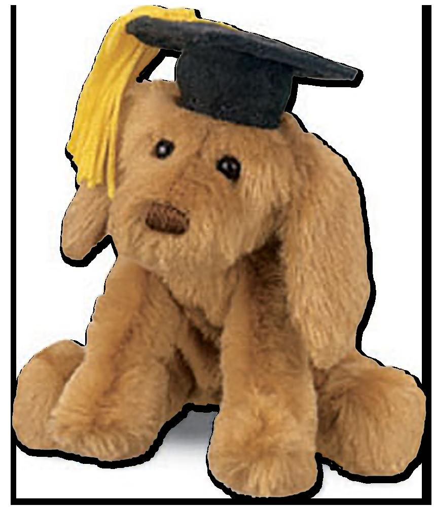 Great Graduation Cap Black Adorable Dog - gu60080blk_pl_grad_puddles  Trends_792346  .png