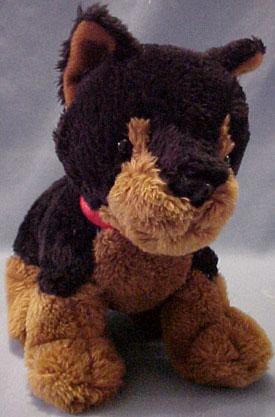 Cuddly Collectibles Plush Doberman Pinscher Stuffed Animals