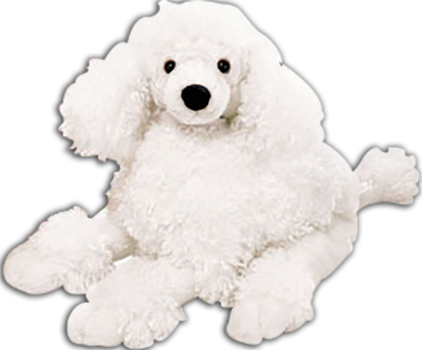 Cuddly Collectibles Collectible Cuddly Soft Plush Poodles Puppy Dogs