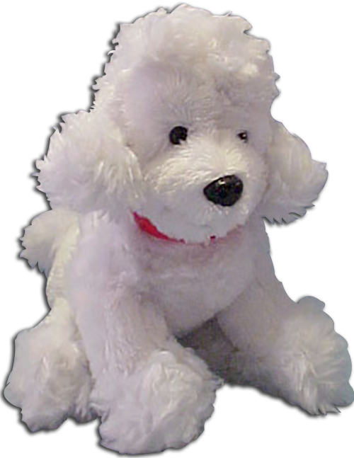 Cuddly Collectibles Cuddly Soft Small Plush Poodles