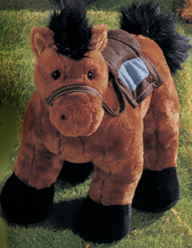 Cuddly Collectibles Large Plush Horse Stuffed Animals