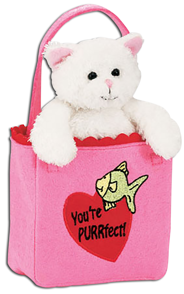 Click here to go to our selection of Collectible Valentine's Day Plush Cats and Kittens