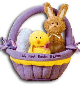 Cuddly collectibles unique easter gifts and easter basket fillers babys 1st easter toys negle Images