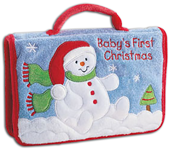 cuddly collectibles baby gund christmas photo albums santa and