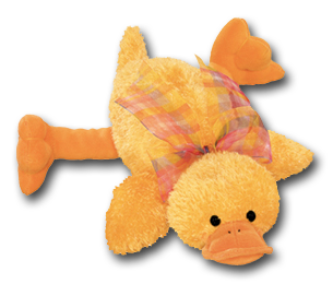 Cuddly Collectibles Baby Safe Easter Plush Ducks
