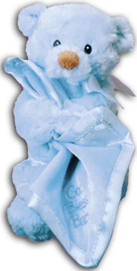 Cuddly Collectibles Baby Gund God Bless Baby Musical