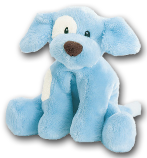 Cuddly Collectibles Baby Gund Plush Puppy Dog Rattles For Boys And