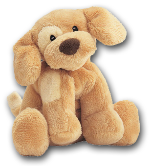 d473085f138d Gund Spunky Light Brown Puppy Dog Rattle - Soft and Cuddly (safe for all  ages