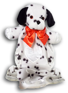 Cuddly Collectible Dakin Lovies Jack Russell Terrier And