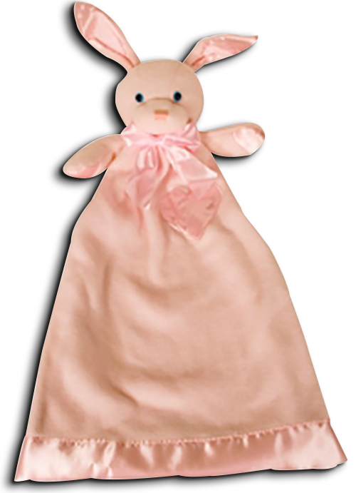Cuddly collectibles applause bunny rabbits baby lovies security dakin lovie betty bunny baby security blanket negle Gallery