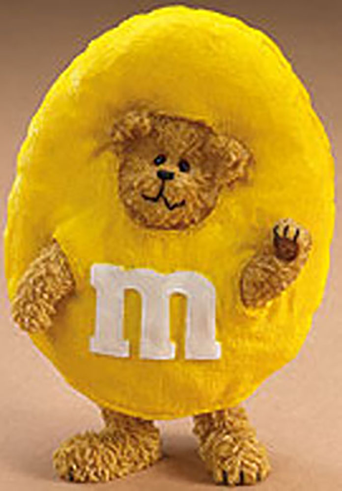 Click here to go to our Boyds Candy Peekers Teddy Bears Dressed as M & M Character Figurines, Hinged Boxes and Plush