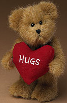 click here to go to our selection of boyds mini messenger teddy bears for valentines day - Valentine Day Bears