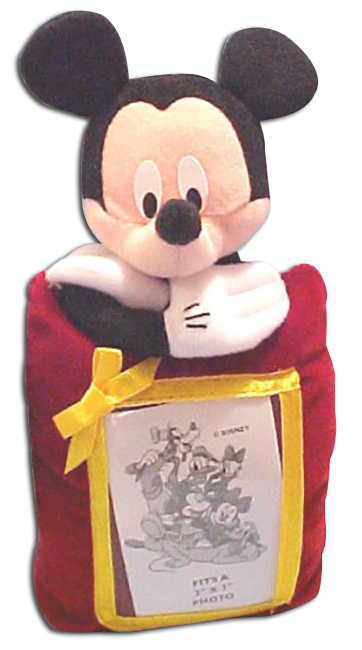 disneys plush mickey mouse picture frame - Mickey Mouse Photo Frame