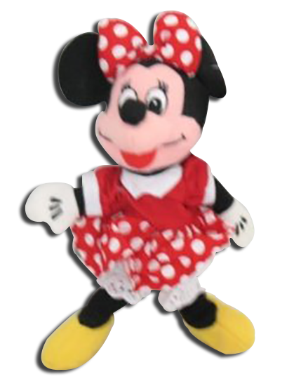 Cuddly Collectibles Disney Store Plush Minnie Mouse In