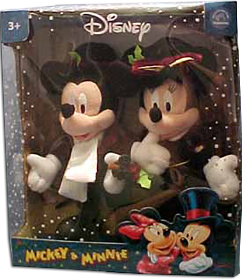 Christmas Minnie Mouse Plush.Cuddly Collectibles Disney Mickey Mouse And Friends