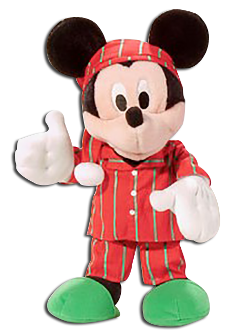 Cuddly Collectibles Disney Mickey Mouse Minnie Mouse And Goofy
