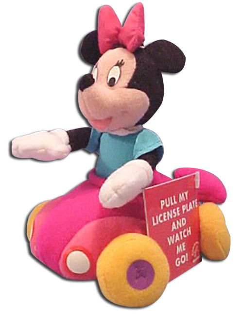 Click here to go to our Disney's Mickey Mouse Minnie and Goofy Plush Wigglers