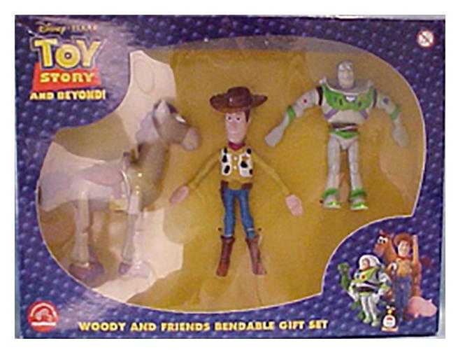 Toy Story Figurines : Disney pixar toy story deluxe figurine playset new