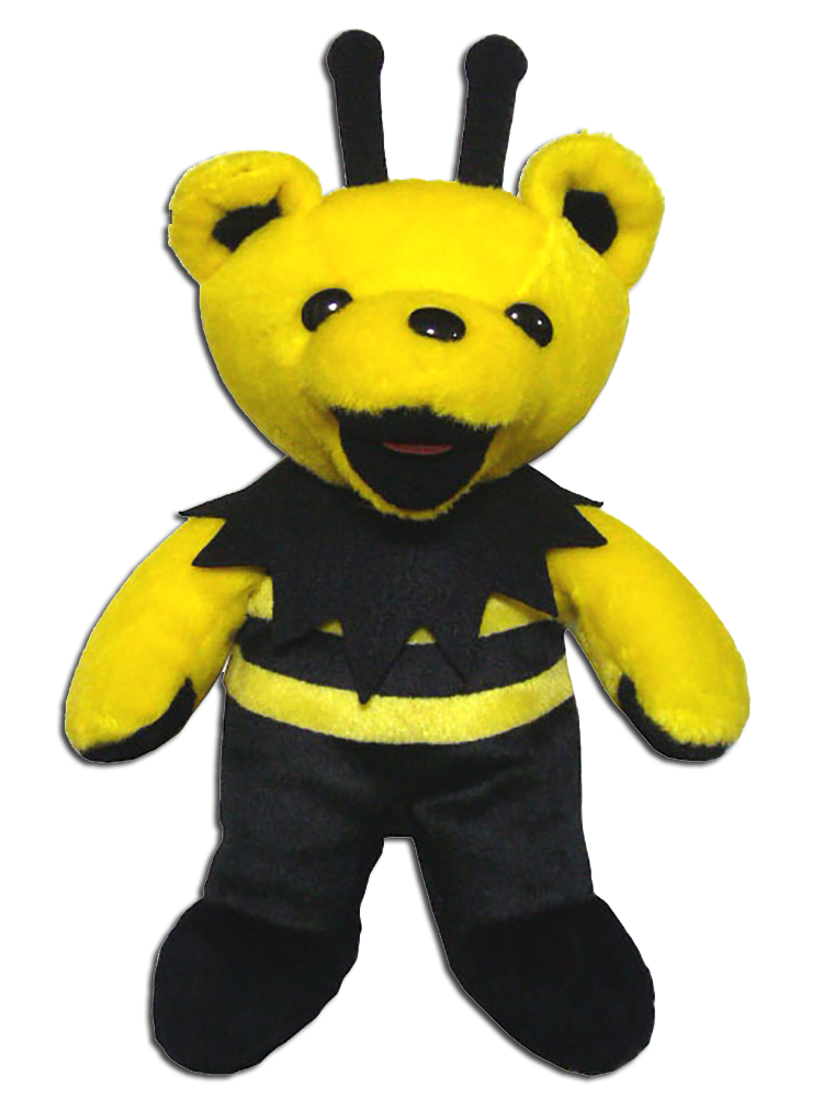 Grateful Dead King Bee Bean Bear with Black Antennas - quantity produced 5040 - Retired 05  sc 1 st  Cuddly Collectibles & Cuddly Collectibles - Grateful Dead Bean Bears Limited Editions All ...