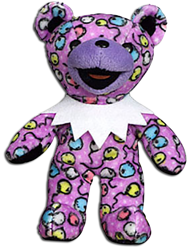 Cuddly Collectibles - Grateful Dead Bean Bears Limited