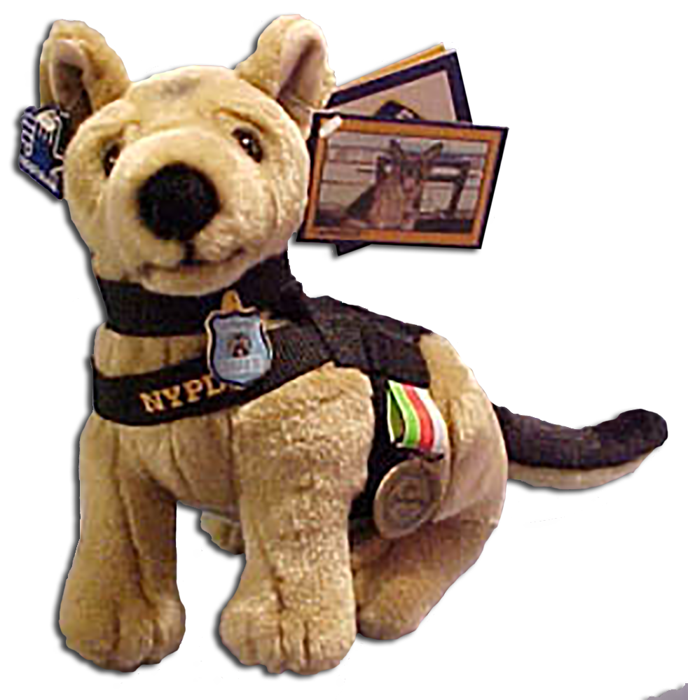 Cuddly Collectibles Nypd K 9 Appollo And Horse Unit Collectibles