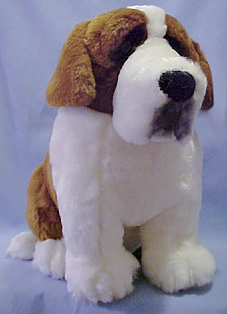 Cuddly Collectibles Lou Rankin Plush St Bernards
