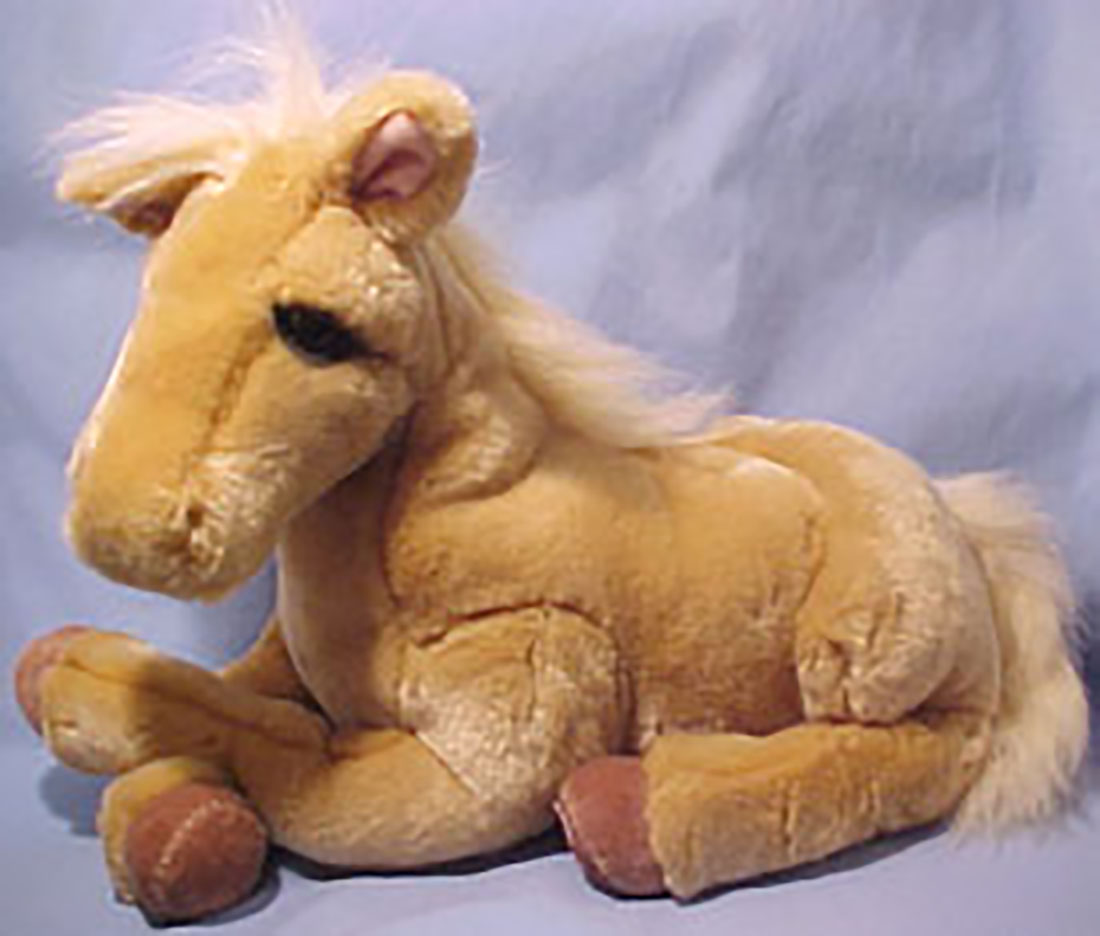 Cuddly Collectibles - Lou Rankin Plush Farm Animals Horses ...