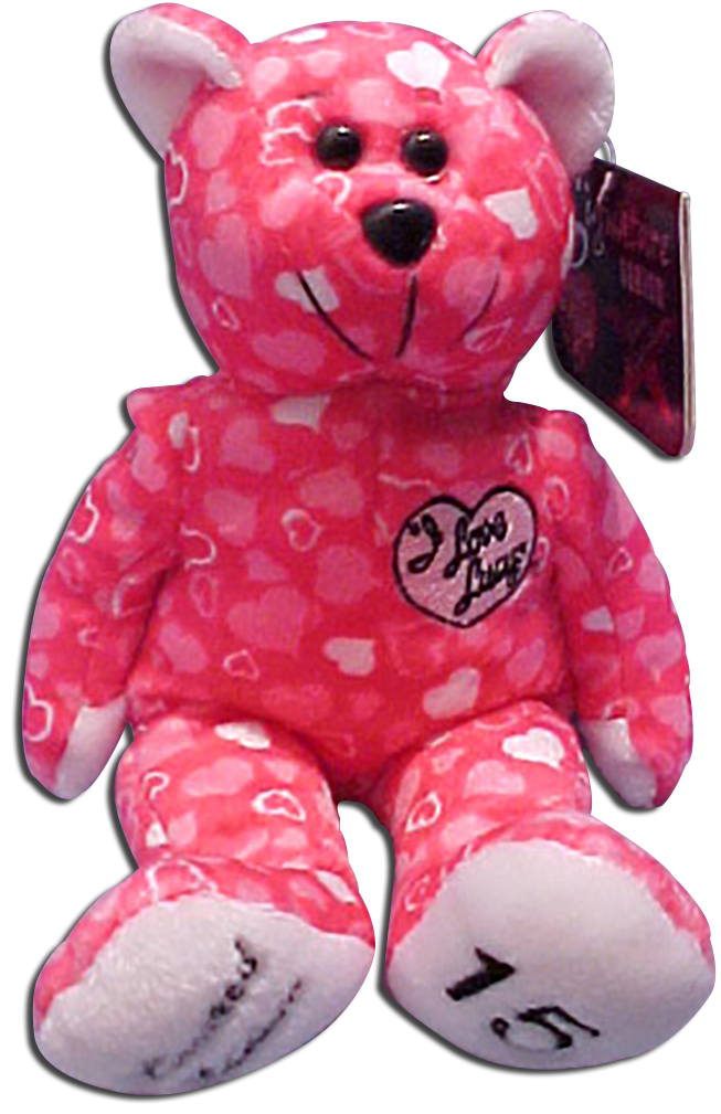 From Episode 15 of the I Love Lucy television show comes this adorable Lucille Ball Cupid Teddy Bear and Pillows for Valentines Day.