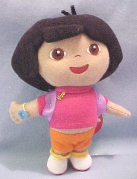 ... Jr.'s Dora the Explorer and Friends Plush Dolls and Stuffed Animals: http://www.cuddlycollectibles.com/nickelodeon_and_nick_jr/dora_the_explorer_plush.html