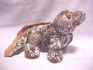 Cuddly Collectibles Precious Moments Tender Tail Reptile And