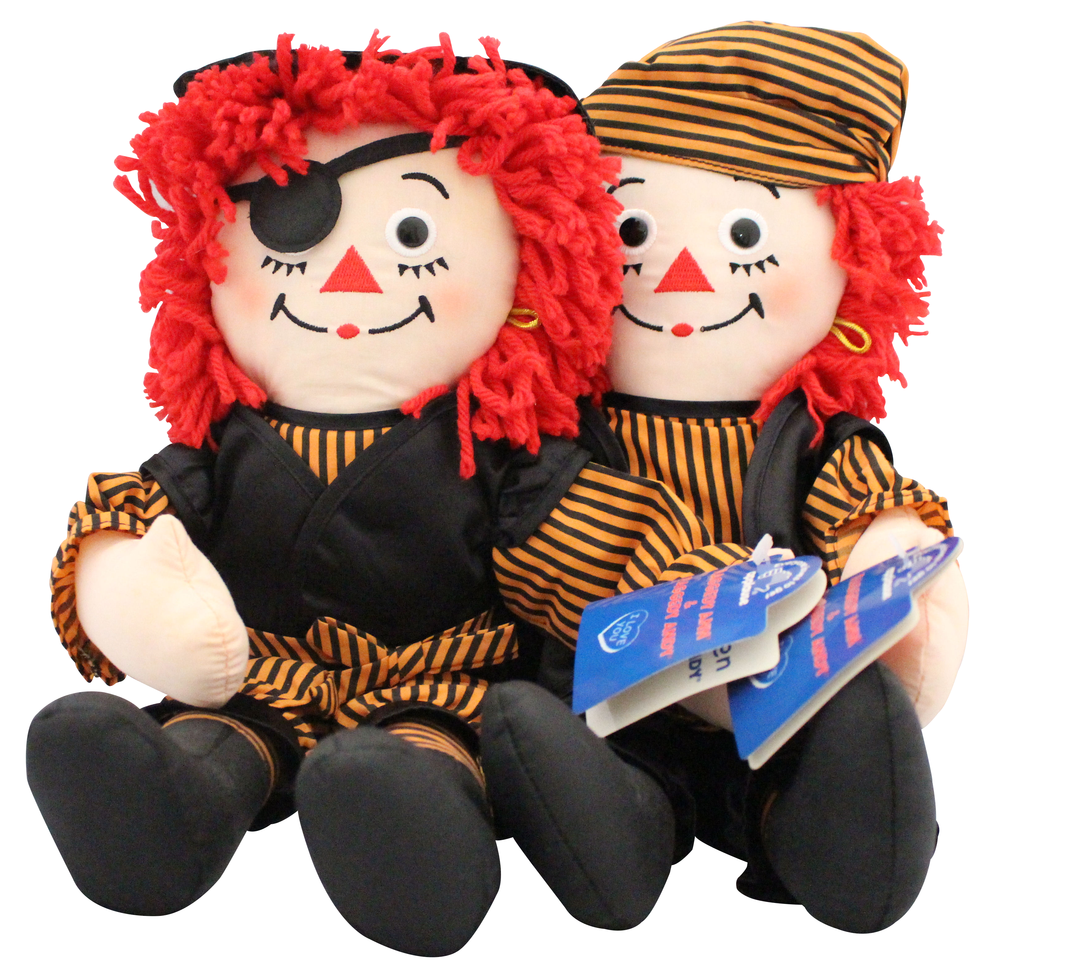 cuddly collectibles halloween raggedy ann and andy rag dolls