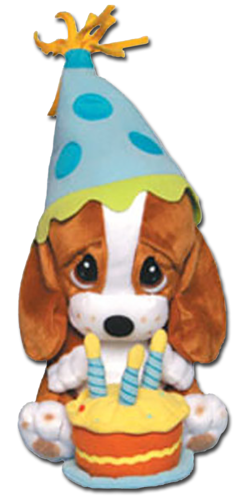 Cuddly Collectibles - Sad Sam and Honey Bet Hound Birthday ...