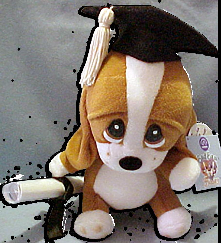 Simple Graduation Cap Black Adorable Dog - ap21716_grad_sam  2018_496426  .png