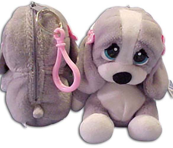 Sad Sam and Honey are adorable Basset Hounds are ready to travel dangling from your Key Chain!