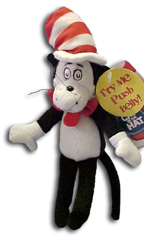 Cuddly Collectibles Dr Seuss Cat In The Hat Storybook Characters