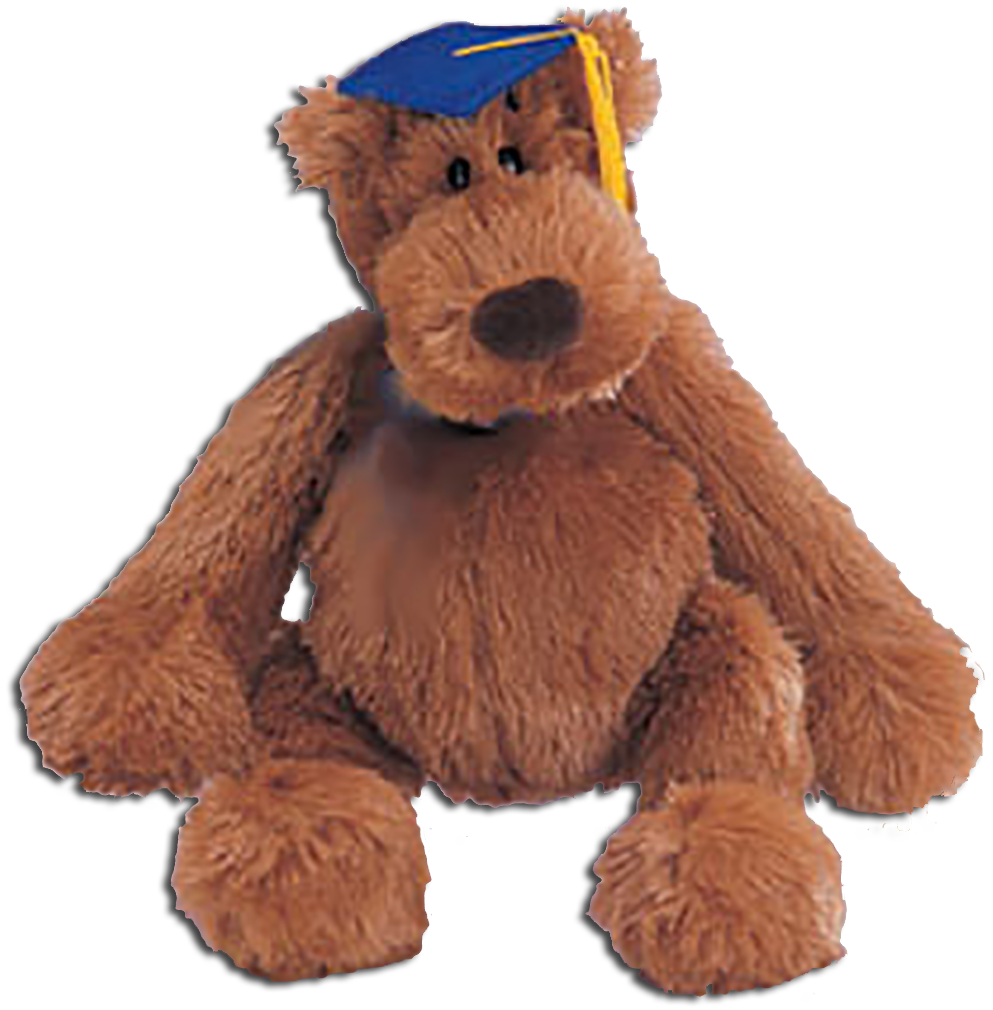 Adorable teddy bears by Gund make the perfect Graduation gift! With Pomp and Circumstance these soft plush teddy bears are sure to please the graduate.