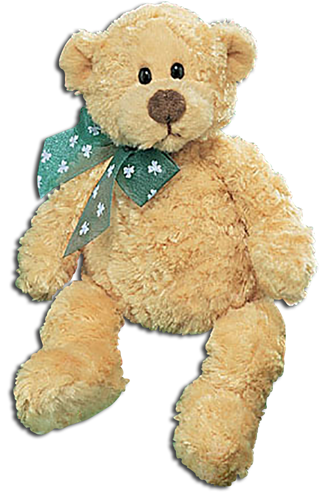 Gund plush teddy bears are large teddy bears dressed in green wearing leprechaun hats and bows. These adorable Teddy Bears are ready to celebrate the Irish Holiday!
